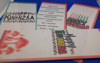 Happy Kwanzaa Bookmark
