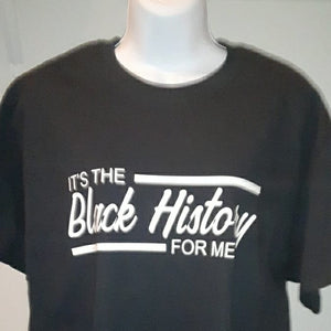 It's the Black History for me