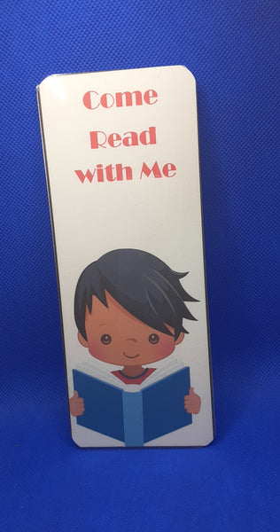 Come Read With Me Bookmark