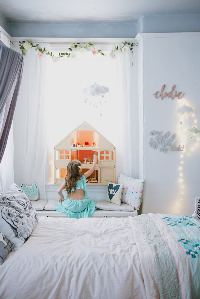 Room Tour: Elodie's Modern Fairytale