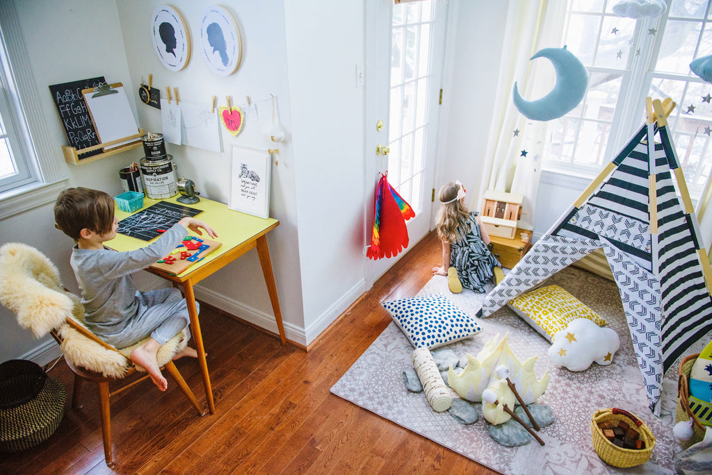 Room Tour: Gav + Elo's Work + Play Room