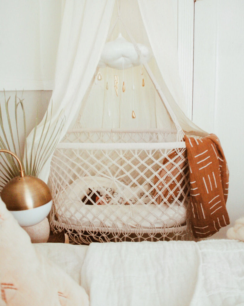 Room Tour: Cara's Minimal Boho Inspired Nursery