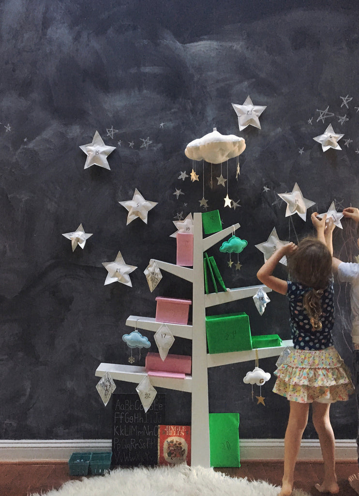 DIY Advent Calendar, our favorite holiday tradition