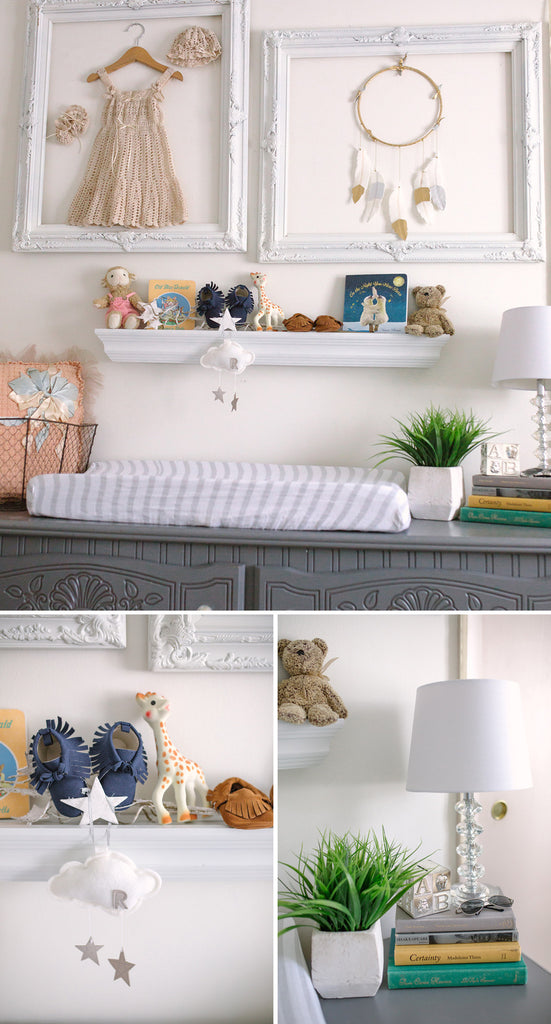 Room Tour: Raegan's Shabby Chic Neutral Nursery