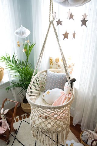 Boho inspired space by Baby Jives Co