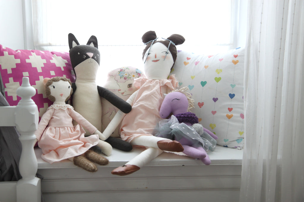 Doll Collection - Elodie's Modern Fairytale Big Girl Room by Baby Jives Co