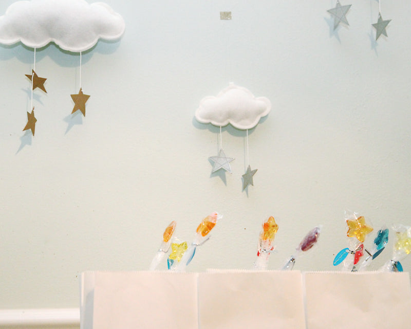 Star Bright Birthday Party - Clouds by Baby Jives Co