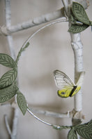Butterfly Mobile - Yellow, Green + Silver - Baby Jives Co