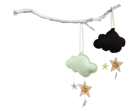 Luxe Mini Star Cloud Keepsake - Baby Jives Co