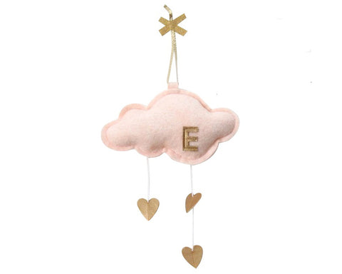 Mini Heart Cloud Personalized - Baby Jives Co