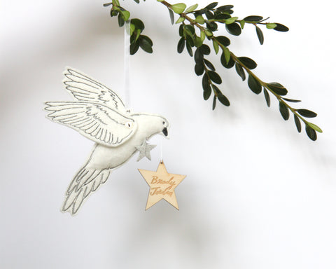 Dove Keepsake Personalized - Baby Jives Co