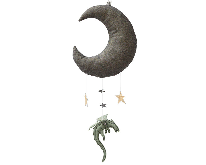 Green Dragon Moon Mobile - Baby Jives Co
