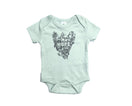 Cultivate Hope Bodysuit Sage - Baby Jives Co
