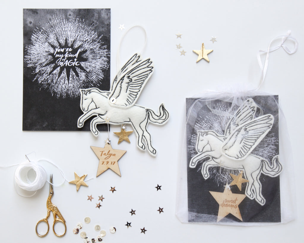 Pegasus Keepsake Personalized - Baby Jives Co
