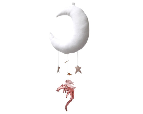 Rose Dragon Moon Mobile - Baby Jives Co