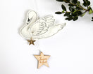 Swan Keepsake Personalized - Baby Jives Co