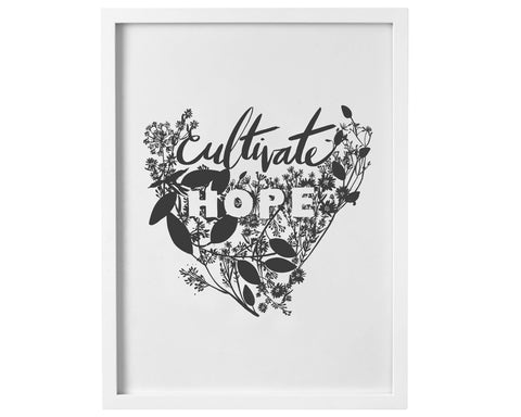 Cultivate Hope digital download to print - Baby Jives Co