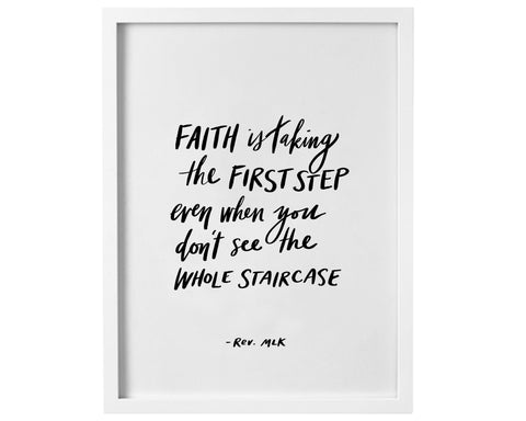 Faith Quote - Digital Print - Baby Jives Co