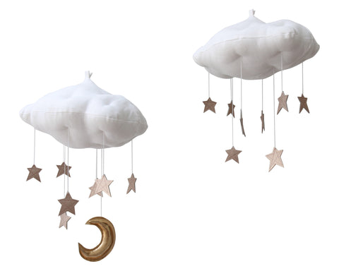 Luxe Rose Gold Star Cloud - Baby Jives Co