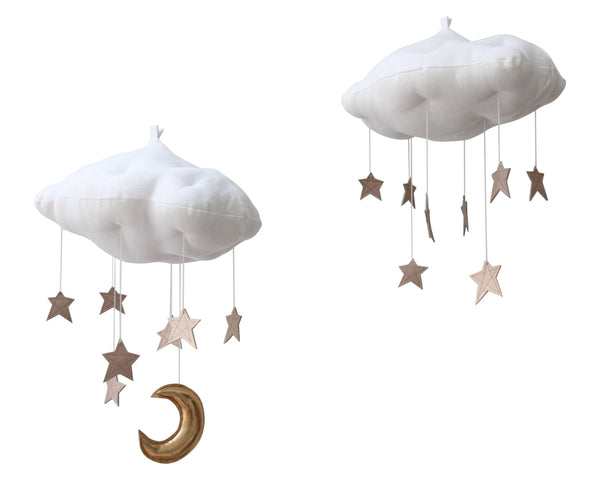 Luxe Rose Gold Star Cloud Mobile