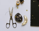 Gold Moon Phase Clips - Baby Jives Co