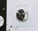 Silver Moon Phase Clips - Baby Jives Co