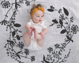 Organic Cotton Swaddle Blanket - Garland
