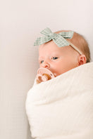 Sample Sale -  Natural Organic Cotton Gauze Swaddle