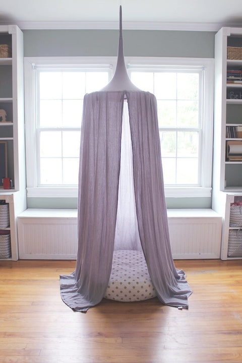 Blue House Joys - Play Tent Canopy in Stone Gray