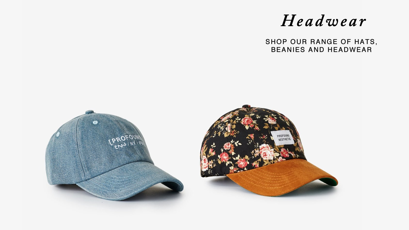 headwear by profound aesthetic