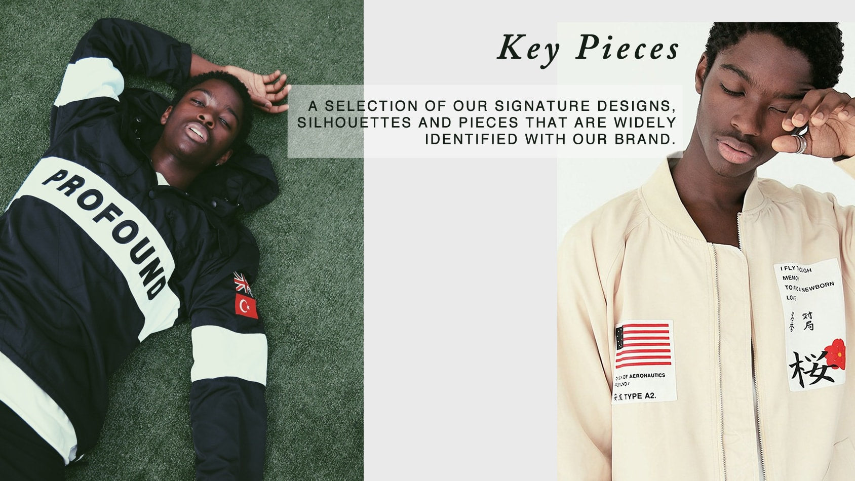 PROFOUND AESTHETIC KEY PIECES
