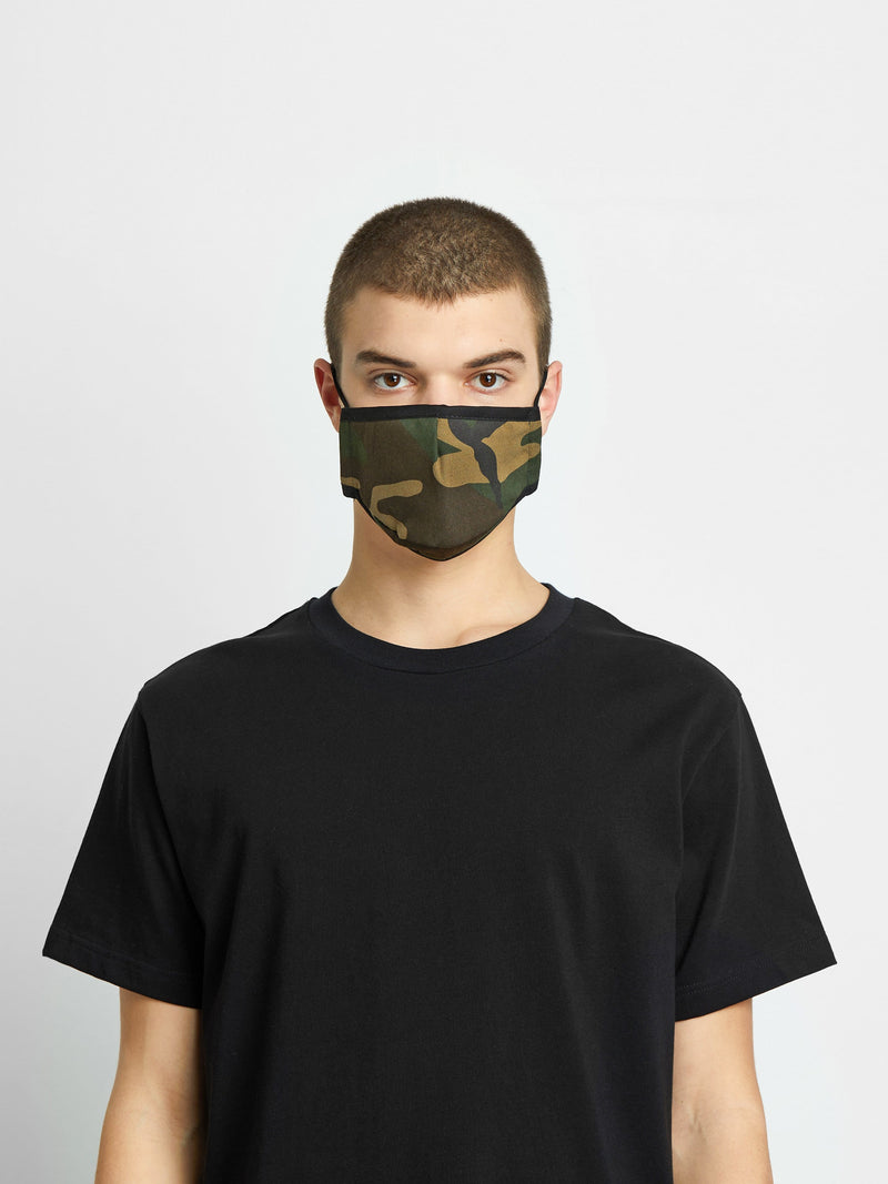 Triple-Layered Protective Camo Face Mask (4797600727111)