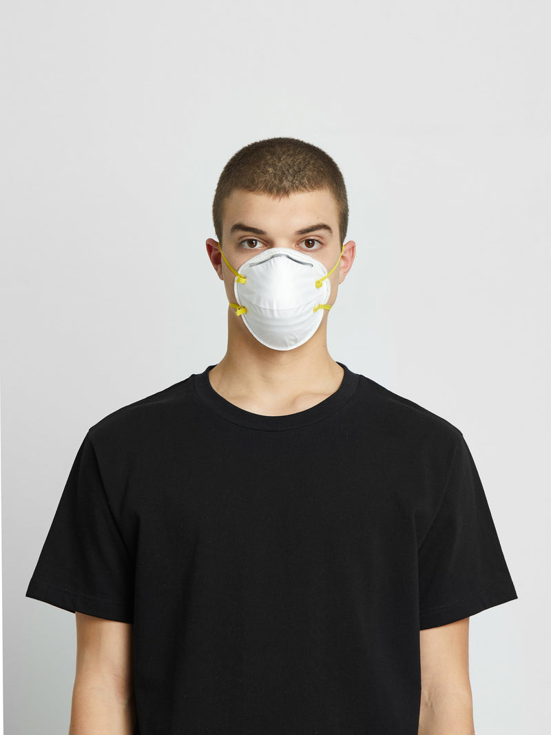 4 Pack | Respirator Face Mask in White (6135392993470)