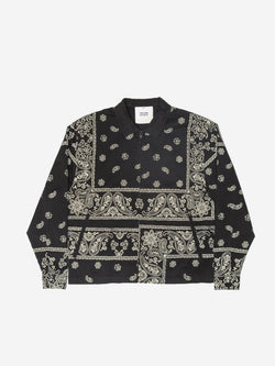 Bandana Paisley Trucker Jacket in Vintage Black (6088572666046)