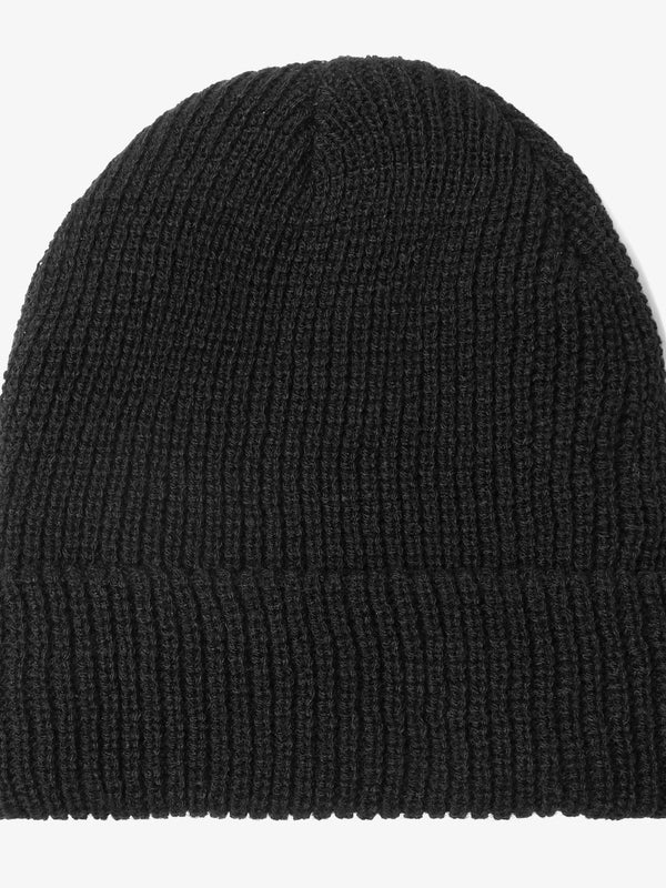 PREORDER | Black Knit Basic Beanie (3117689989)