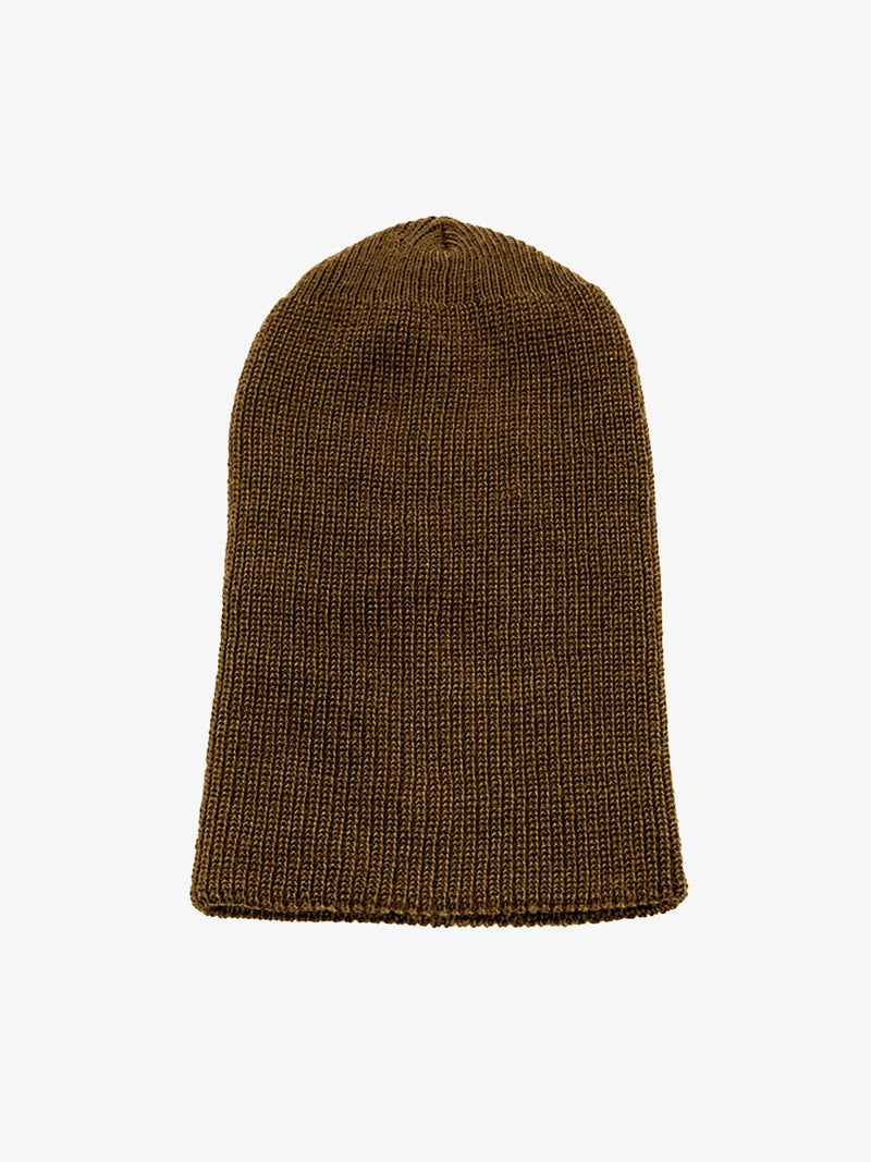 PREORDER | Brown Knit Basic Beanie (6093401587902)