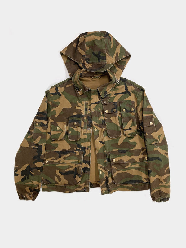 Sample | Woodland Camo Cargo Jacket
