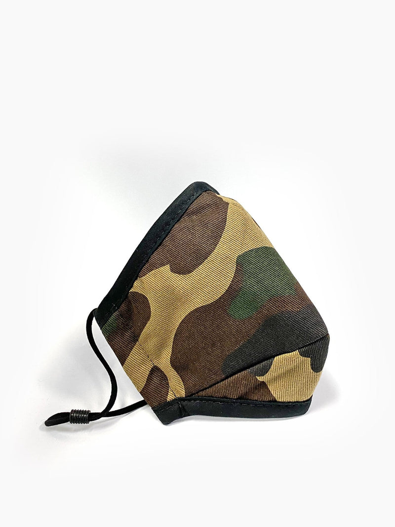 Triple-Layered Protective Camo Face Mask