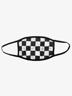 Checkered Cotton Face Mask