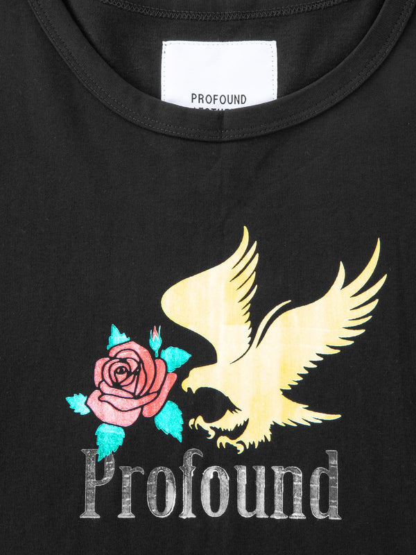 Golden Eagle Tee in Black