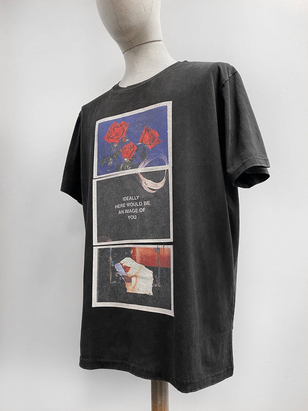 """Image Of You"" Tee in Vintage Black"