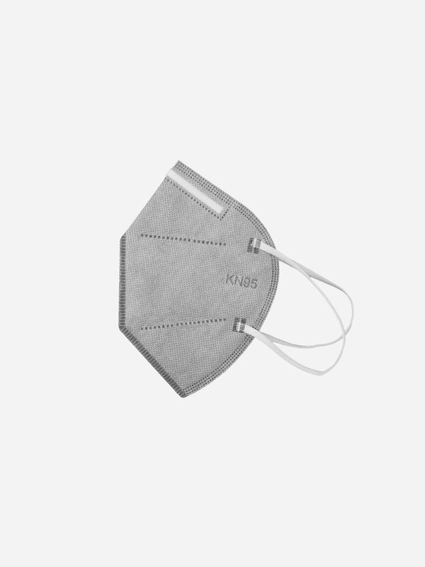 10 Pack | KN95 Filtered Face Mask in Gray (6213071470782)