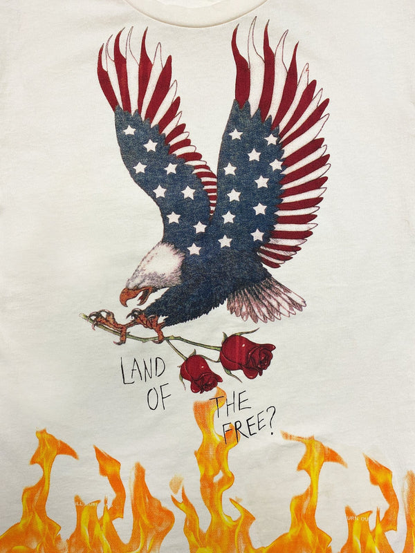 """Land Of The Free"" Tee in Natural (4789660483655)"