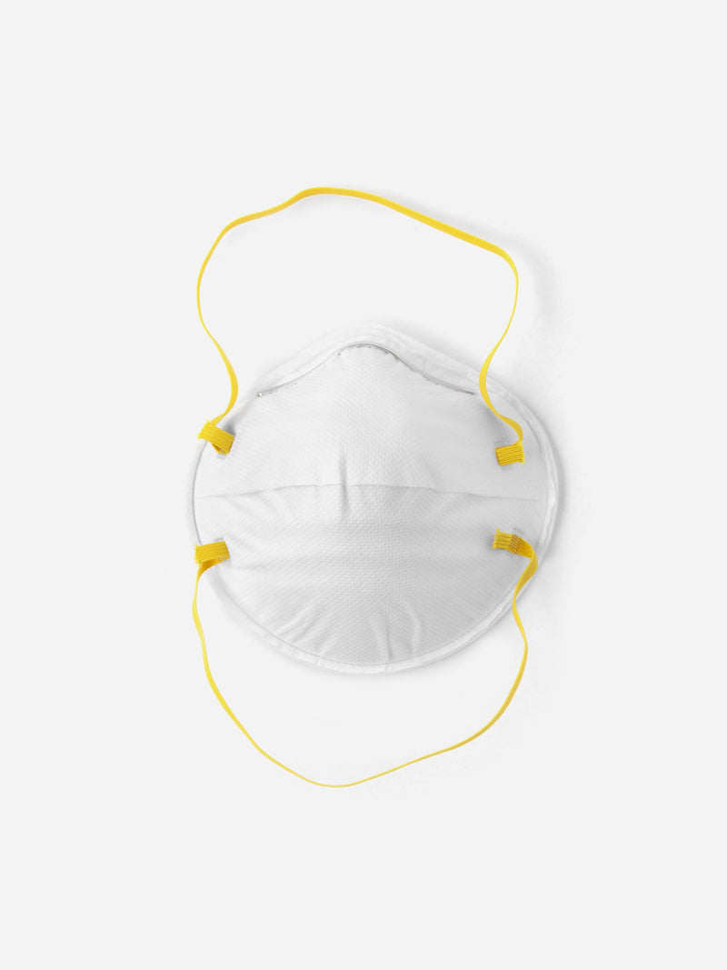 4 Pack | N95 Respirator Face Mask in White Logo (6135392993470)
