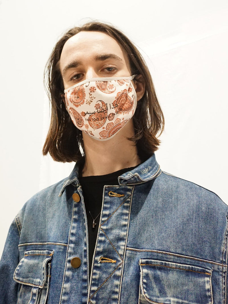 Paisley Carpet Face Mask