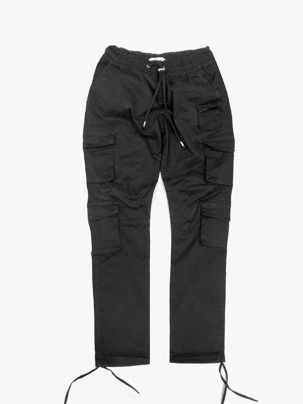 Multi-Cargo Pants in Black (4447691538503)