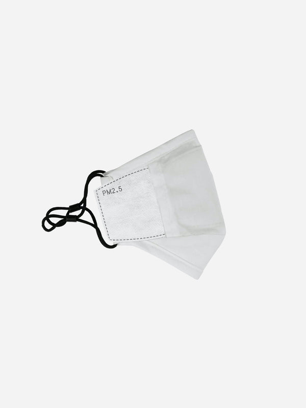 Triple-Layered Off-White Protective Face Mask (4692535902279)