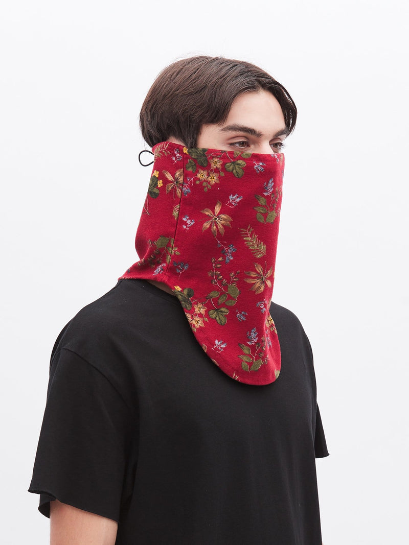 Half-Face Red Floral Face Mask (4762351337543)