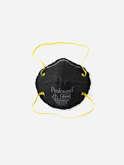 4 Pack | N95 Respirator Logo Face Mask in Black (6135392796862)