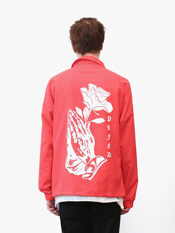 Rose Prayer Coach Jacket